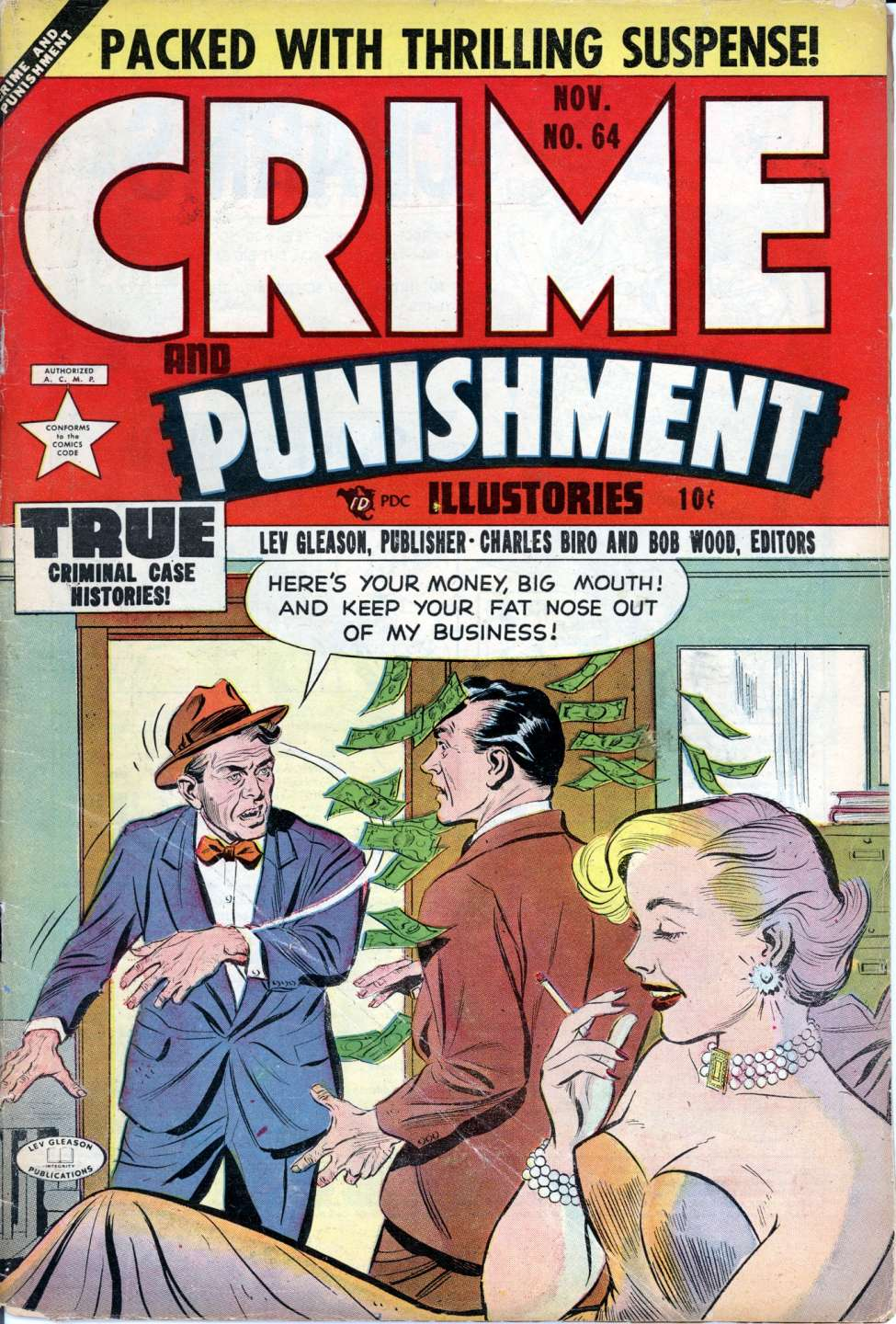 Comic Book Cover For Crime and Punishment #64