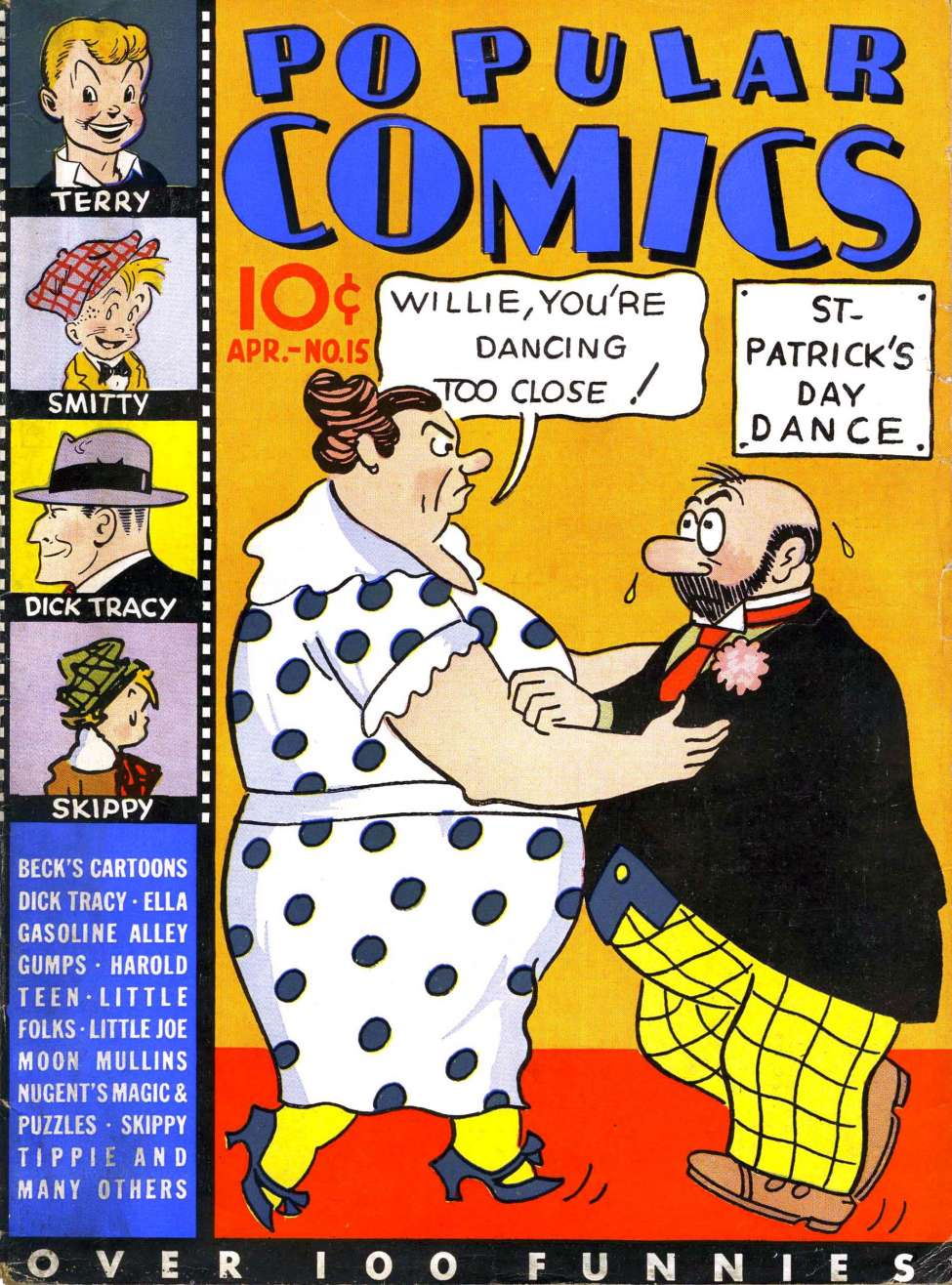 Comic Book Cover For Popular Comics #15
