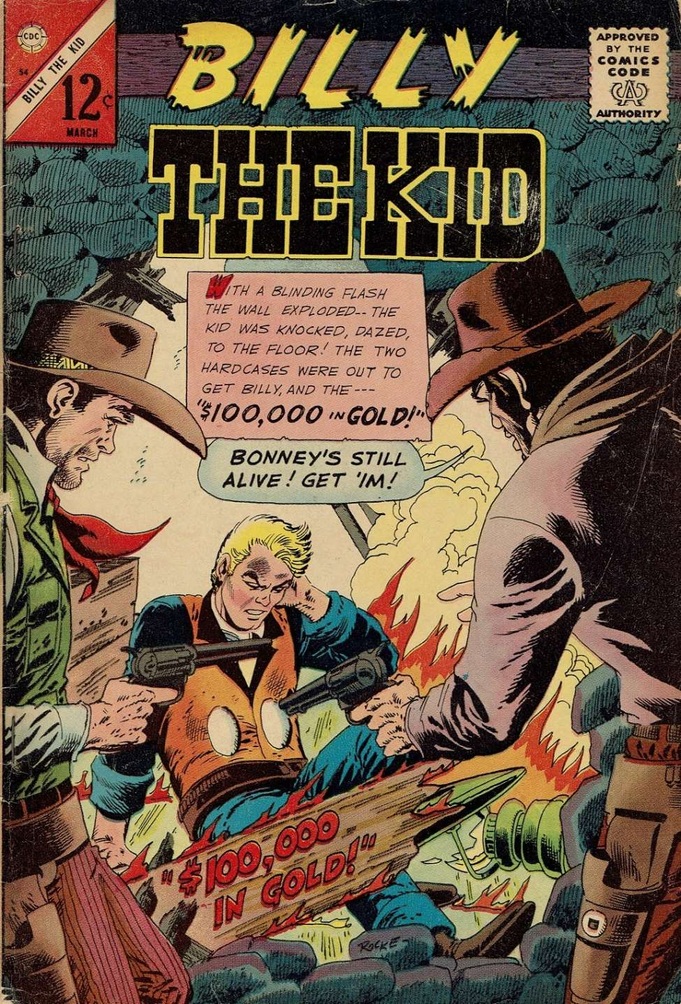 Comic Book Cover For Billy the Kid #54