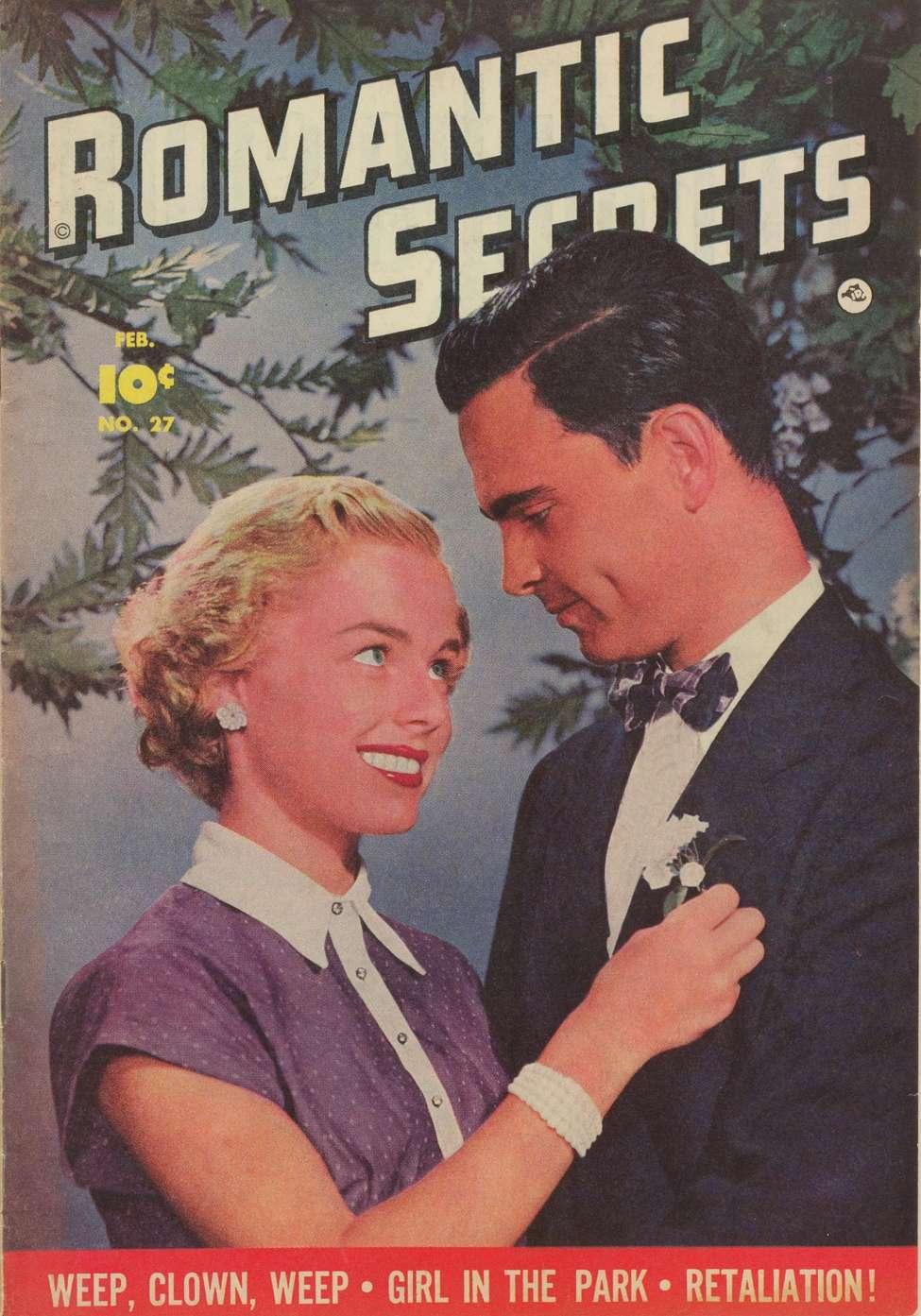 Comic Book Cover For Romantic Secrets #27