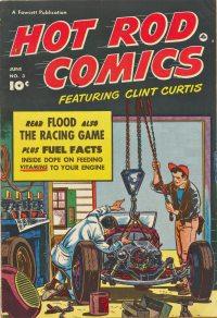 Large Thumbnail For Hot Rod Comics #3