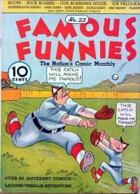 Large Thumbnail For Famous Funnies #22