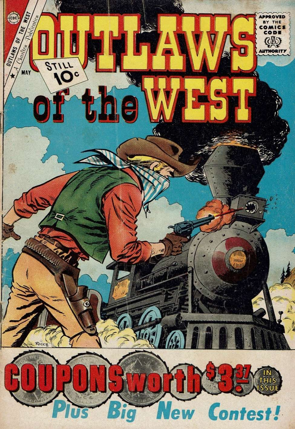 Comic Book Cover For Outlaws of the West #31