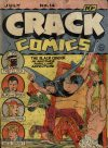 Cover For Crack Comics 14