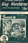 Cover For Guy Verchères v2 5 Le secret de Zita