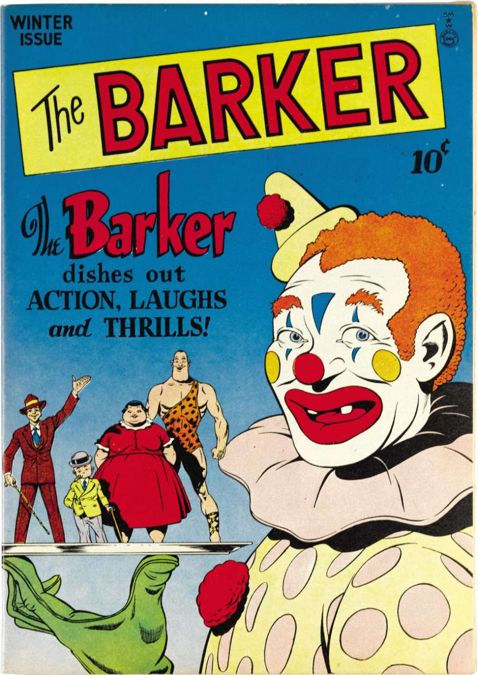 Comic Book Cover For The Barker #2