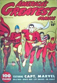 Large Thumbnail For Capt. Marvel Compilation Vol 1