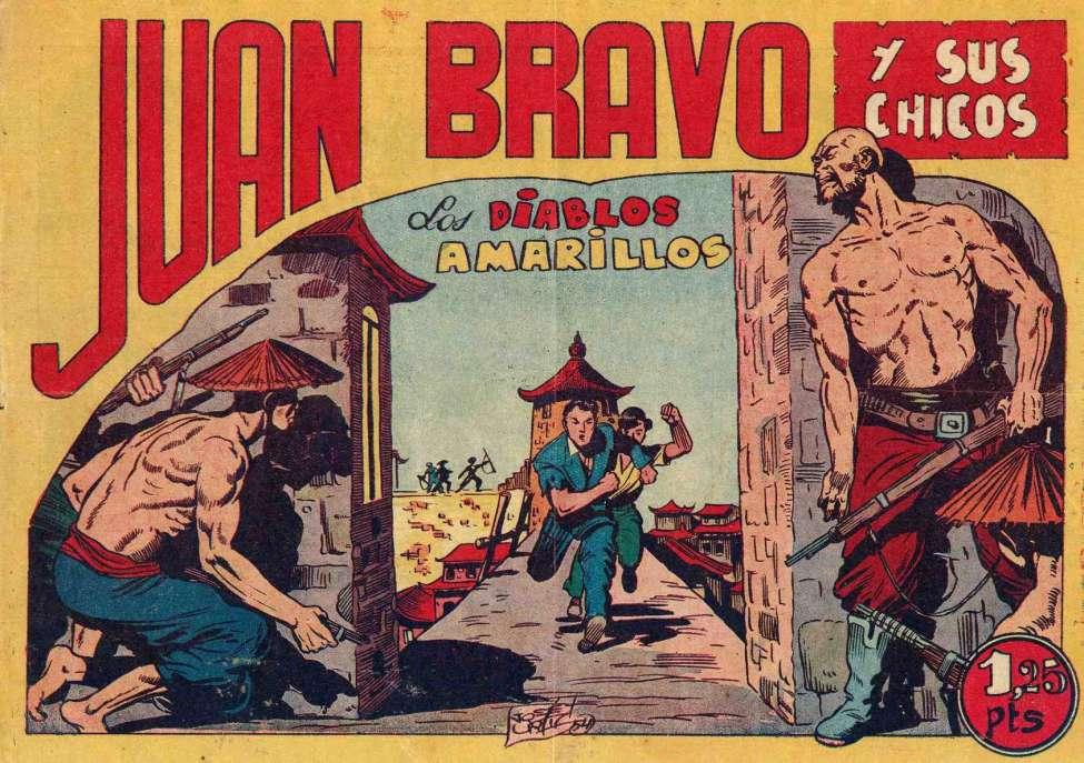 Comic Book Cover For Juan Bravo 33