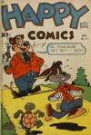 Cover For Happy Comics 31