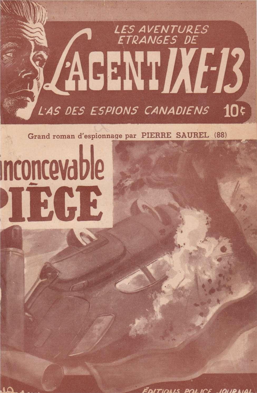 Comic Book Cover For L'Agent IXE-13 v2 088 - L'inconcevable piège