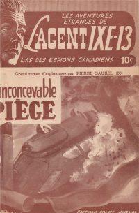Large Thumbnail For L'Agent IXE-13 v2 088 - L'inconcevable piège