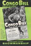 Cover For Congo Bill Pressbook