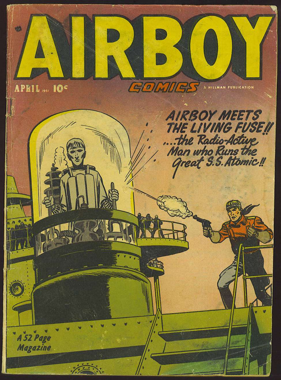 Comic Book Cover For Airboy Comics v8 3 [86]