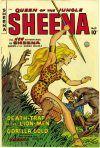 Cover For Sheena, Queen of the Jungle 10