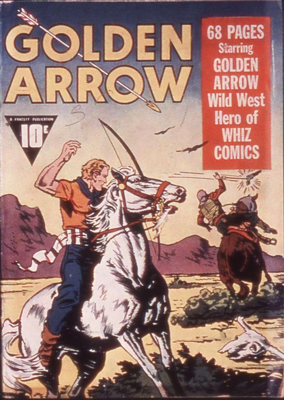 Comic Book Cover For Golden Arrow [1]