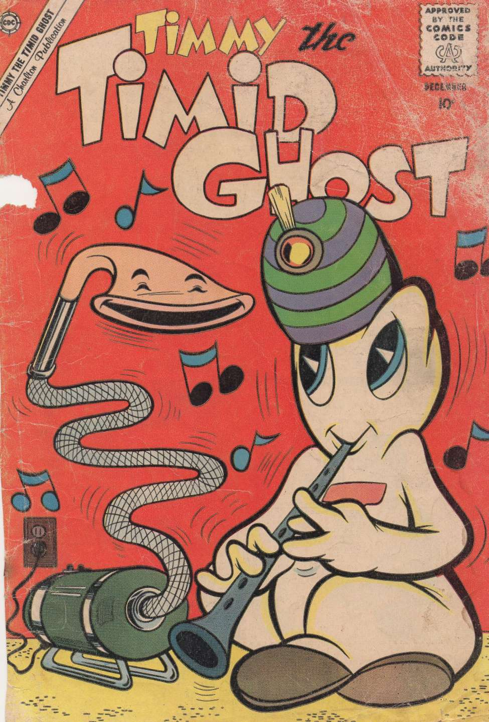 Comic Book Cover For Timmy the Timid Ghost #24