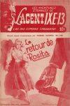 Cover For L'Agent IXE 13 v2 108 Le retour de Rosita