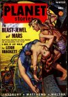 Cover For Planet Stories v4 1 The Beast Jewel of Mars Leigh Brackett