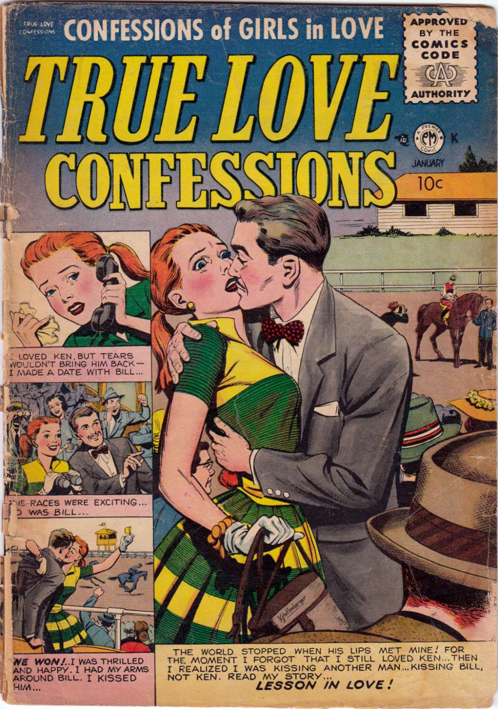 Comic Book Cover For True Love Confessions #11