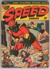 Cover For Speed Comics 28