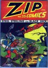 Cover For Zip Comics 25