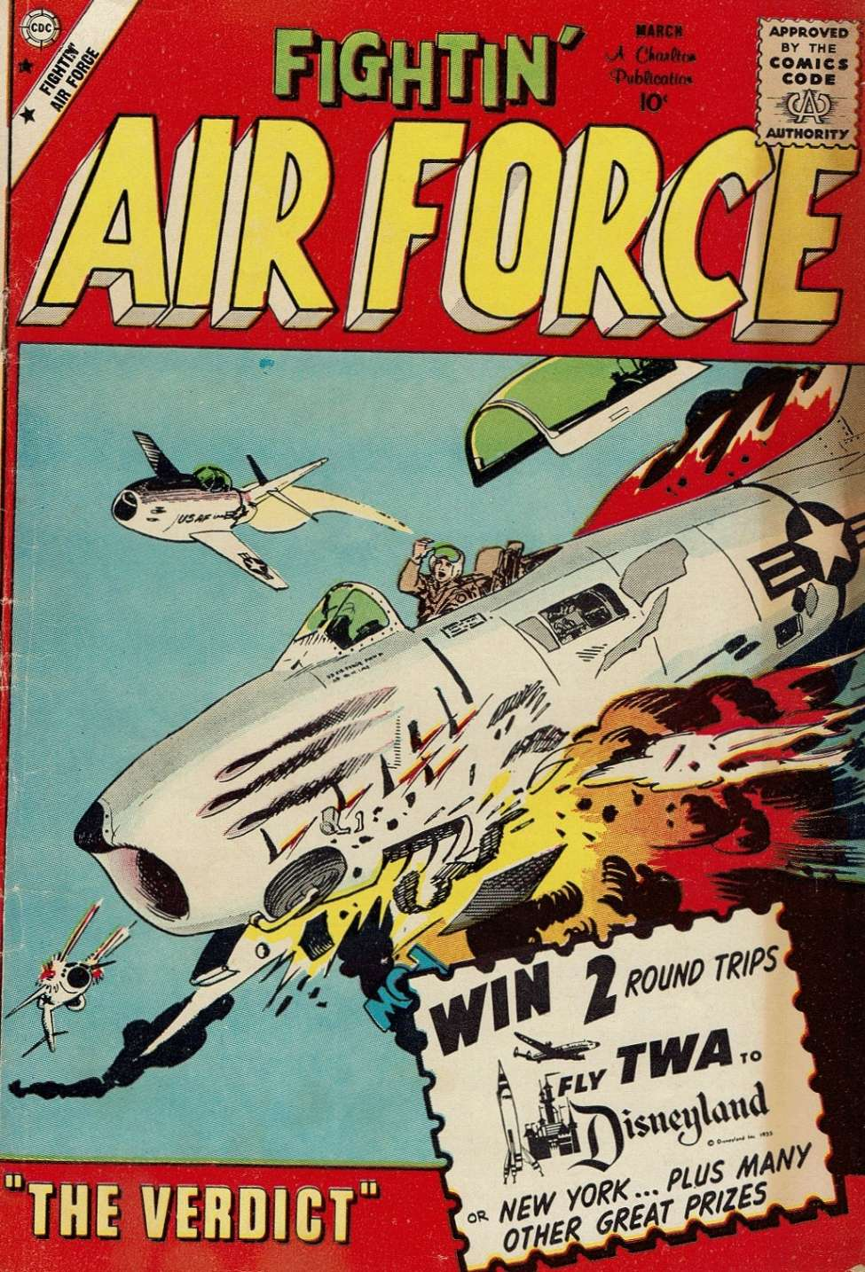 Comic Book Cover For Fightin' Air Force #20
