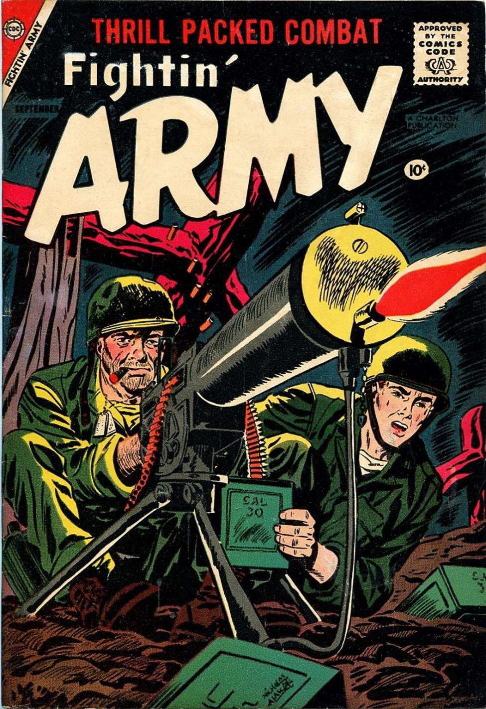 Comic Book Cover For Fightin' Army #26