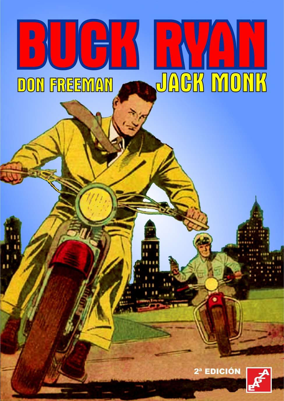 Comic Book Cover For Buck Ryan