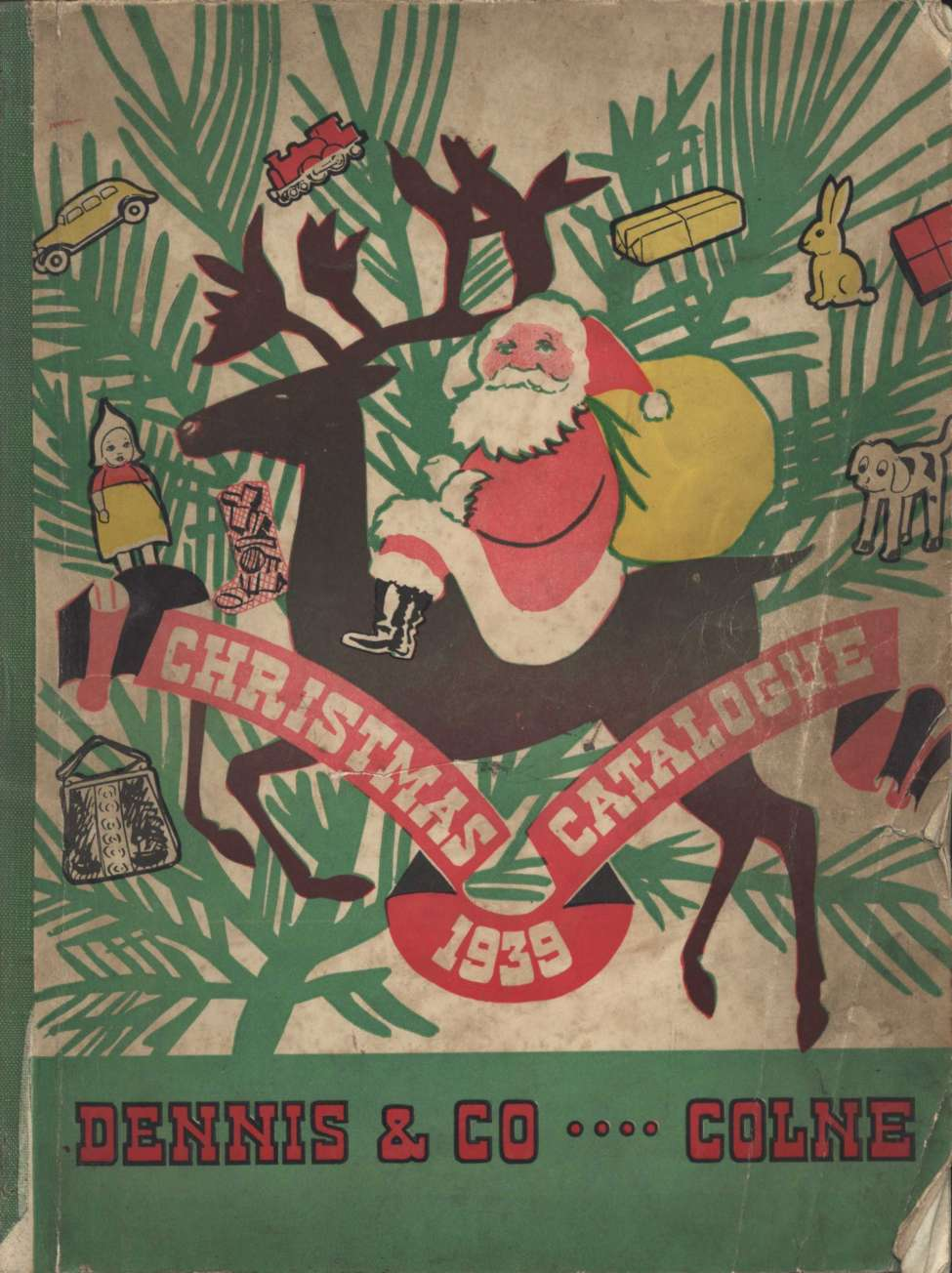 Comic Book Cover For Xmas 1939 Gift Catalogue