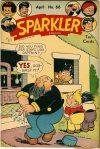 Cover For Sparkler Comics 66