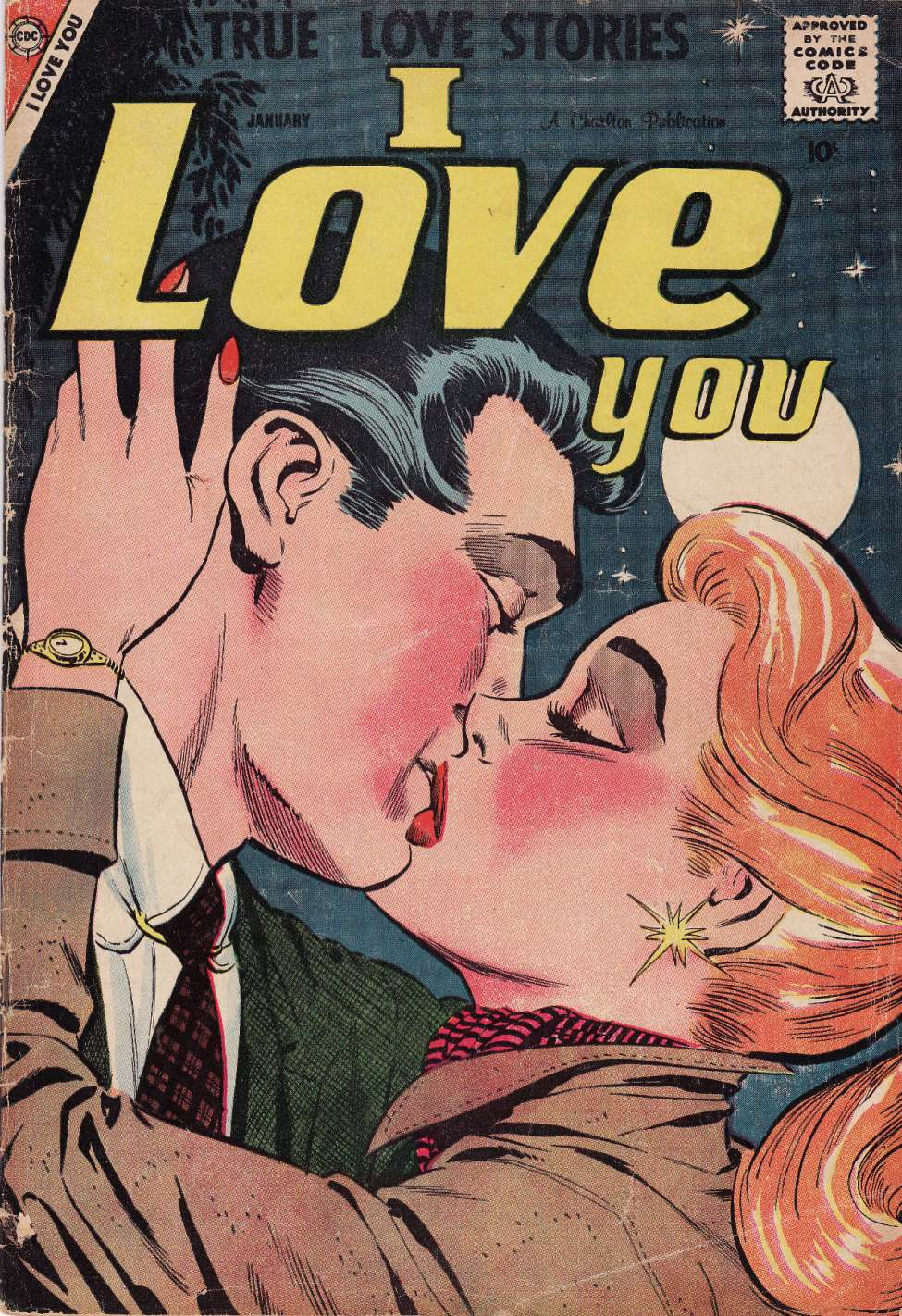 Comic Book Cover For I Love You #21