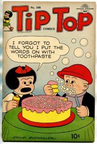 Large Thumbnail For Tip Top Comics 168