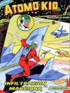 Cover For Atomo Kid 1 Infiltracion marciana