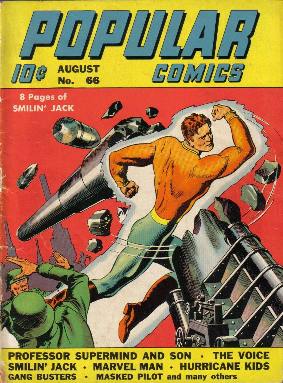 Comic Book Cover For Popular Comics #66