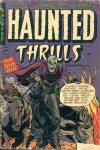 Cover For Haunted Thrills 10