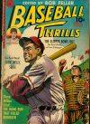 Cover For Baseball Thrills 3