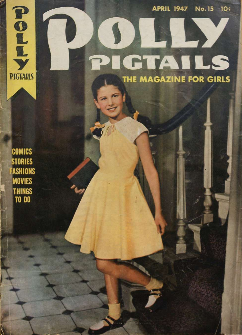 Comic Book Cover For Polly Pigtails #15