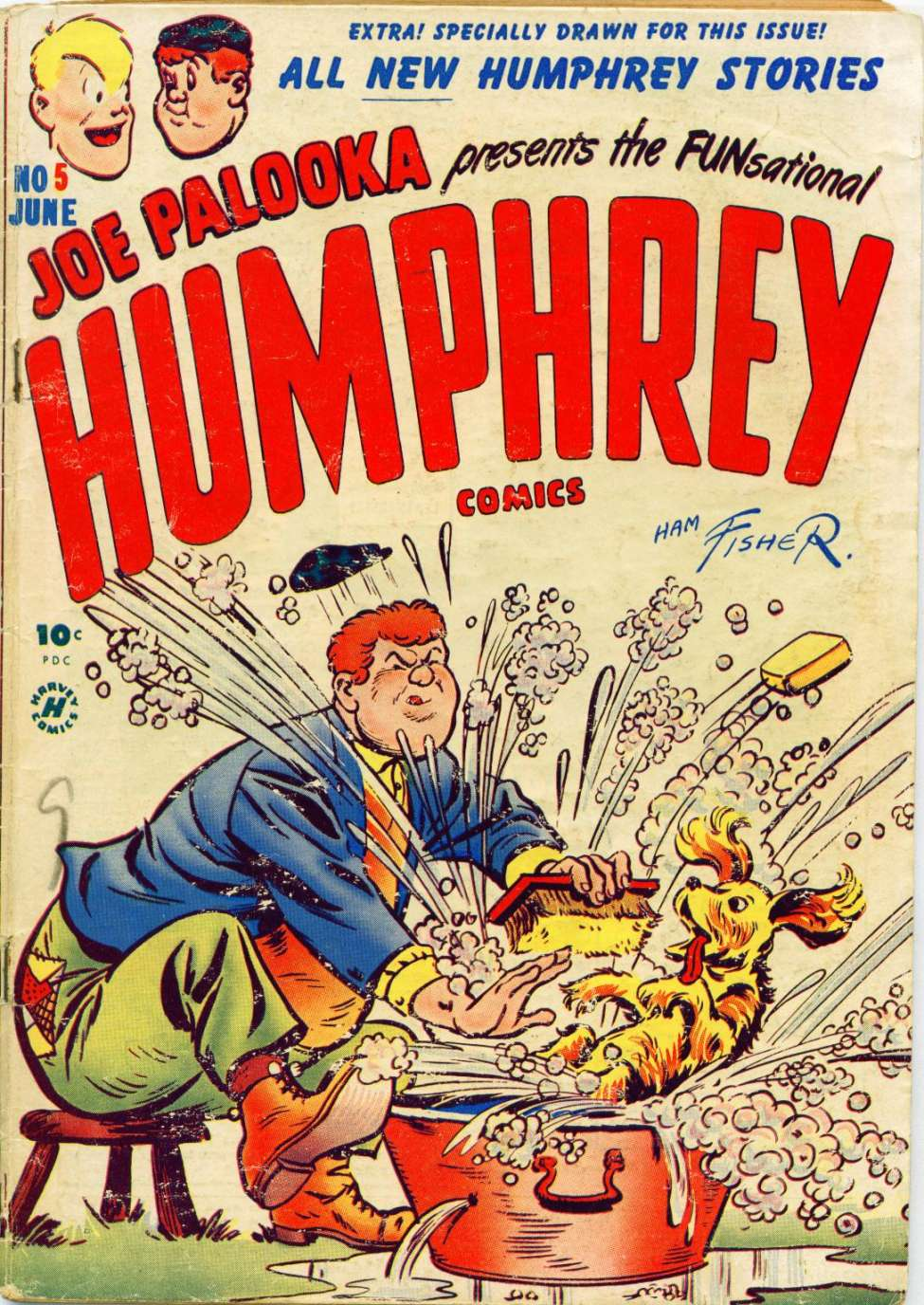Comic Book Cover For Humphrey Comics #5
