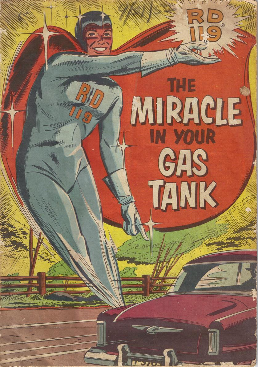 Comic Book Cover For Sinclair Oil RD 119: The Miracle in your Gas Tank
