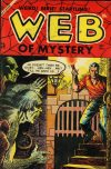 Cover For Web of Mystery 25
