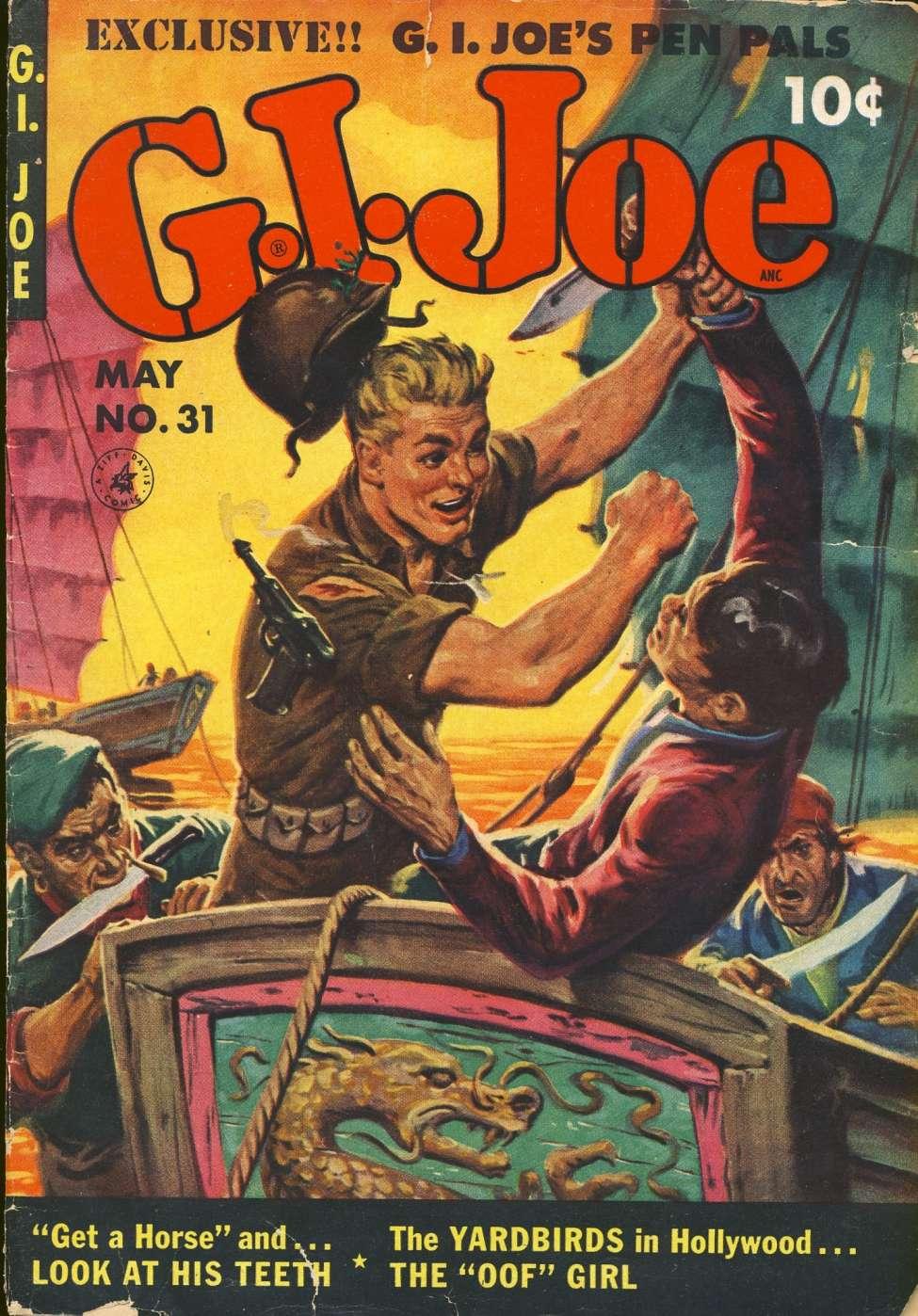 Comic Book Cover For G.I. Joe #31
