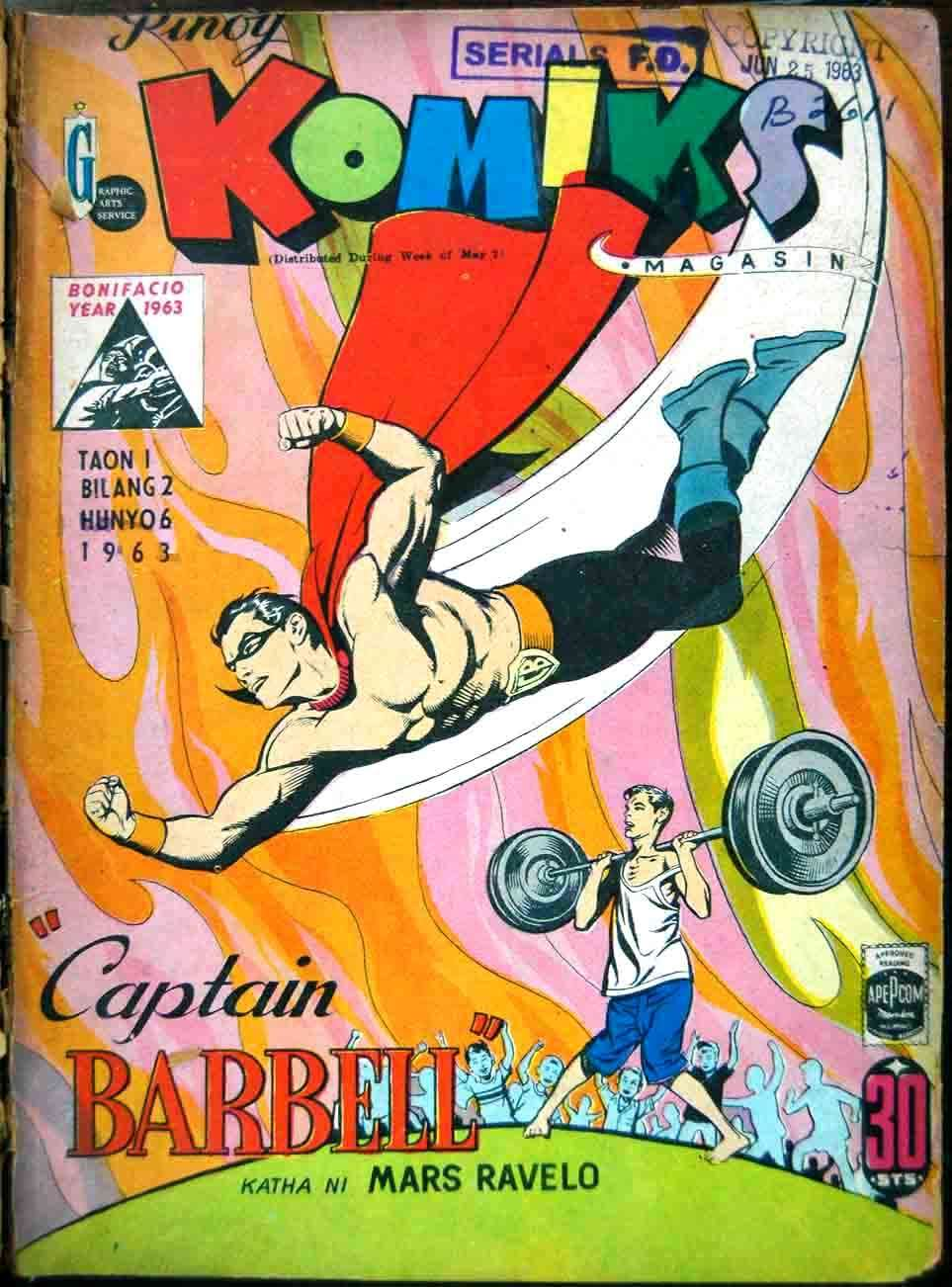 Comic Book Cover For Pinoy Komiks Compilation