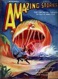 Large Thumbnail For Amazing Stories v05 08 - The Drums of Tapajos - Capt. S. P. Meek
