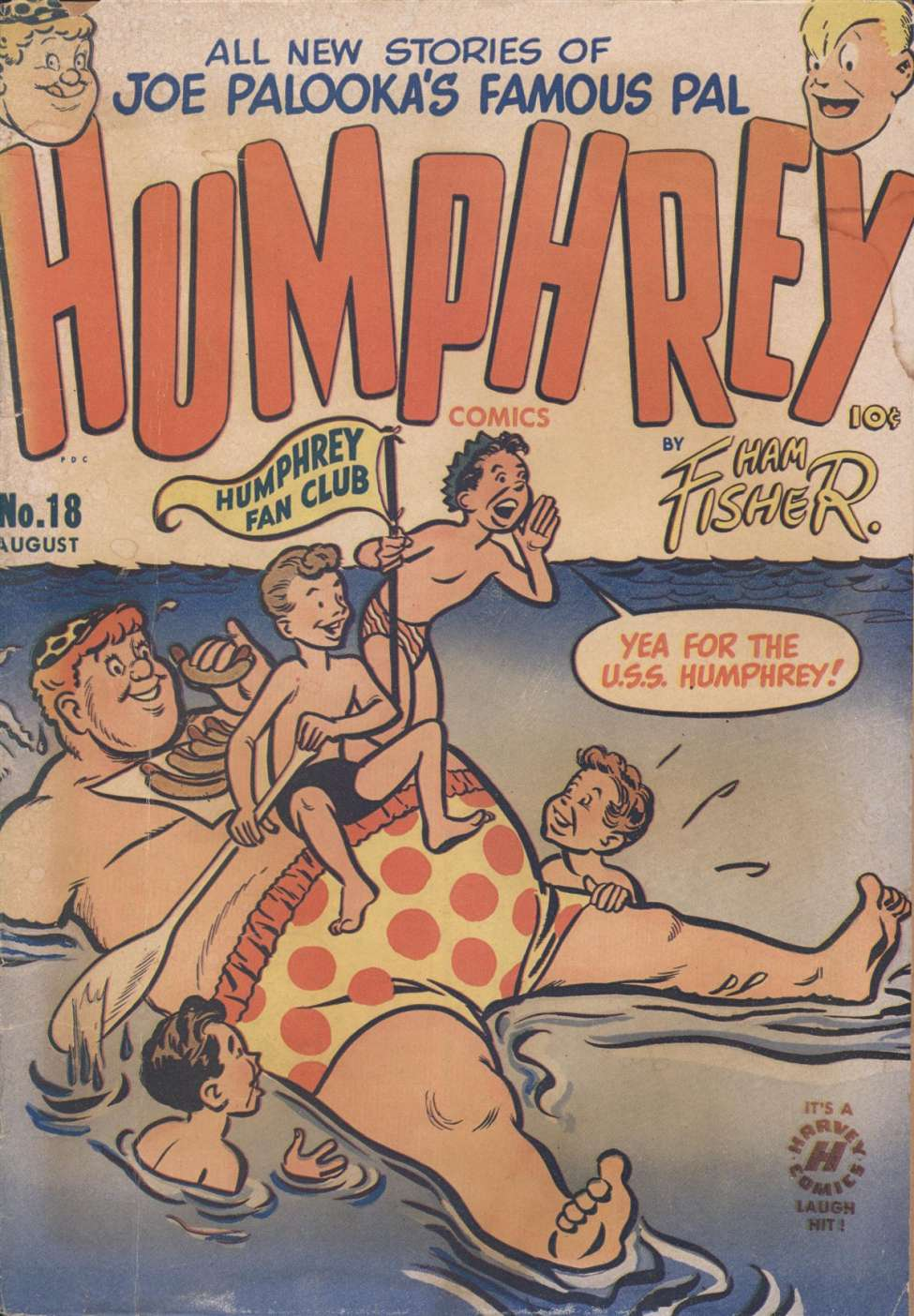 Comic Book Cover For Humphrey Comics #18