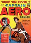 Cover For Captain Aero Comics 6