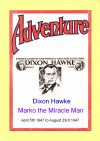 Cover For Dixon Hawke Marko the Miracle Man