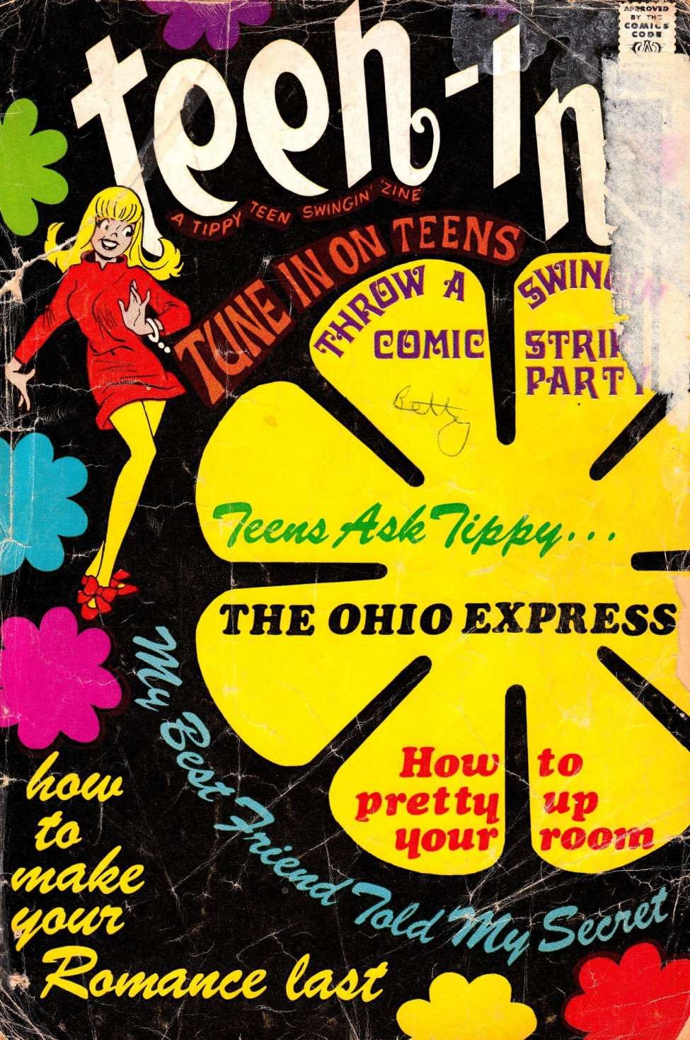 Comic Book Cover For Teen-In [2]
