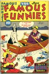 Cover For Famous Funnies 155
