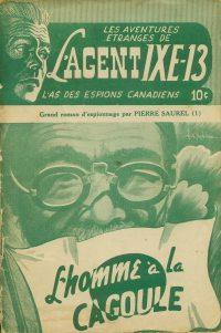 Large Thumbnail For L'Agent IXE-13 v2 001 - L'homme à la cagoule
