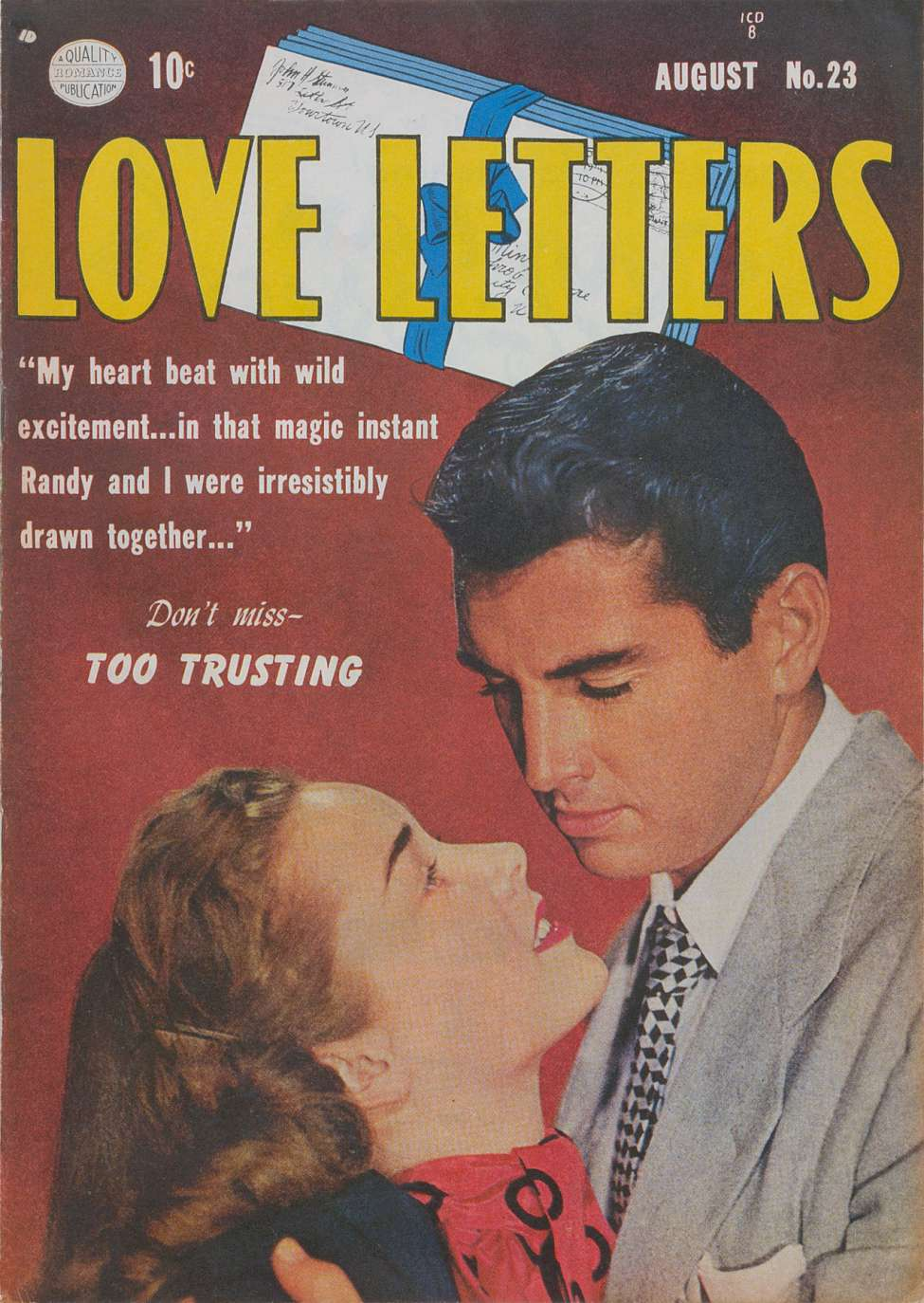 Comic Book Cover For Love Letters #23